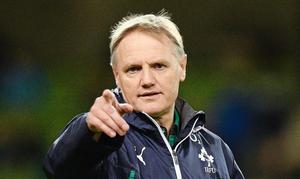 Joe Schmidt, Head Coach of the Irish Rugby