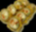 Горячие роллы греческие с курицей и сыром фета