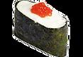 Суши сливочный с икрой