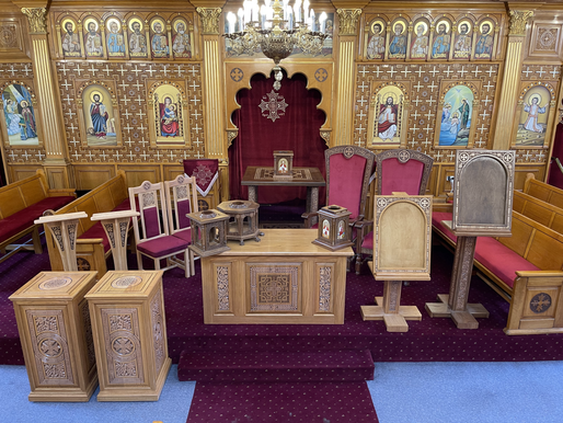 Church Update - Woodwork & Icons