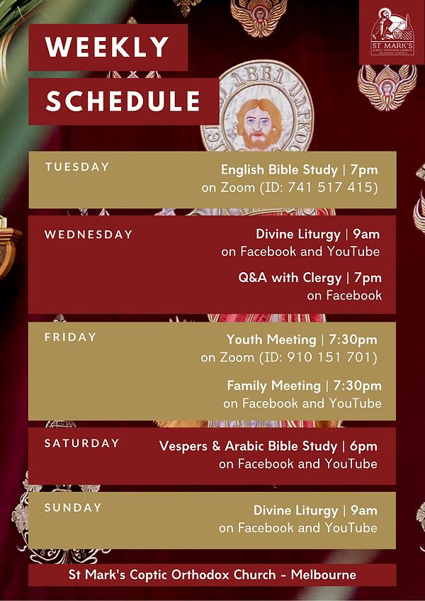 Yellow Sprinkles Weekly Schedule Planner
