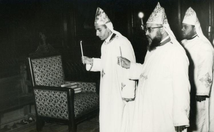 Fr Victor Rophael - ordination processio