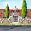 Thumbnail: Church Facade Watercolour Painting