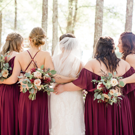 How do I pick my bridesmaids?