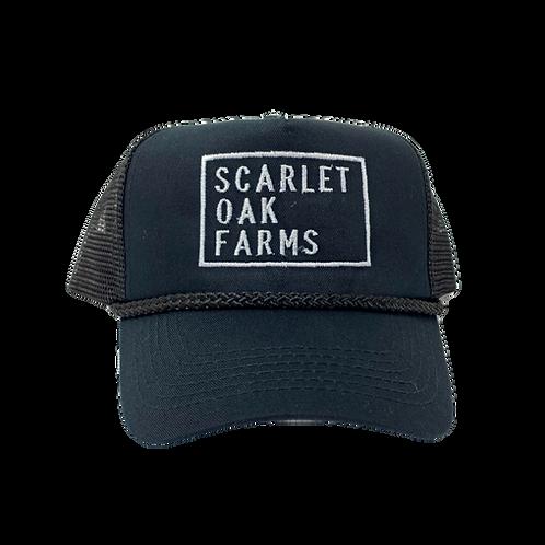 Trucker Hat- Black