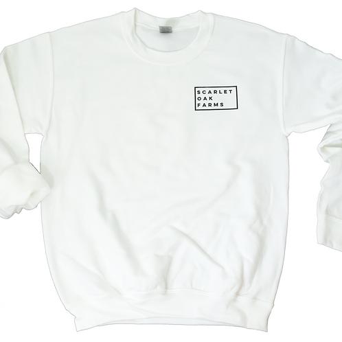 Less Broken Sweatshirt - White
