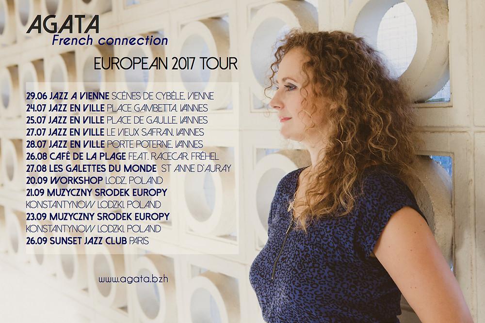 French connection European 2017 TOUR