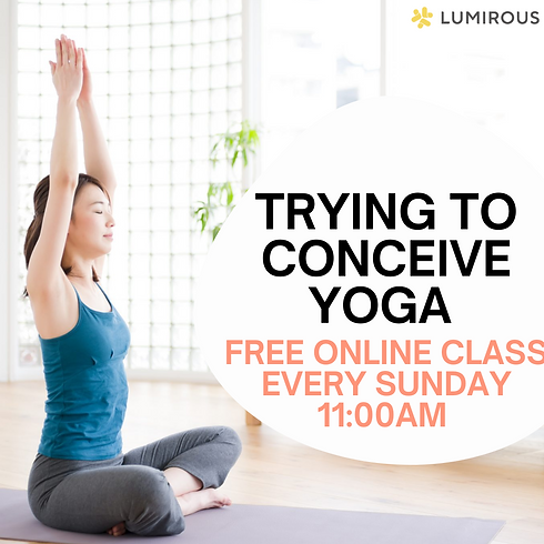 FREE Online Yoga Class to Conceive