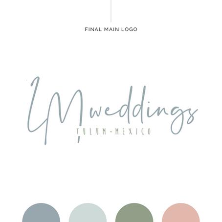 Brand Identity Design | LM Weddings