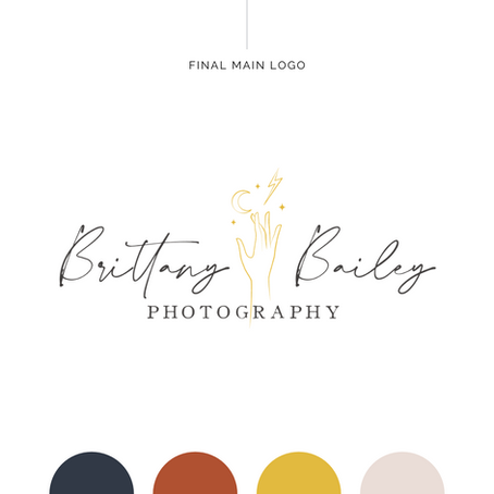 Brand Identity Design | Brittany Bailey Photography