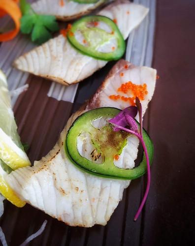 Hamachi Carparcio | Sakana Sushi & Ramen Westminster CO