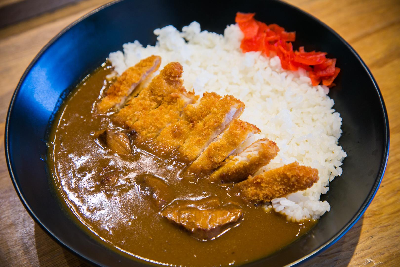 Beef Curry Rice with Pork Cutlet | Sakana Sushi & Ramen Westminster CO