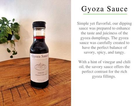 Sakana Gyoza Sauce