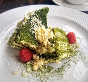 Homemade Green Tea Cake | Sakana Sushi & Ramen Westminster CO