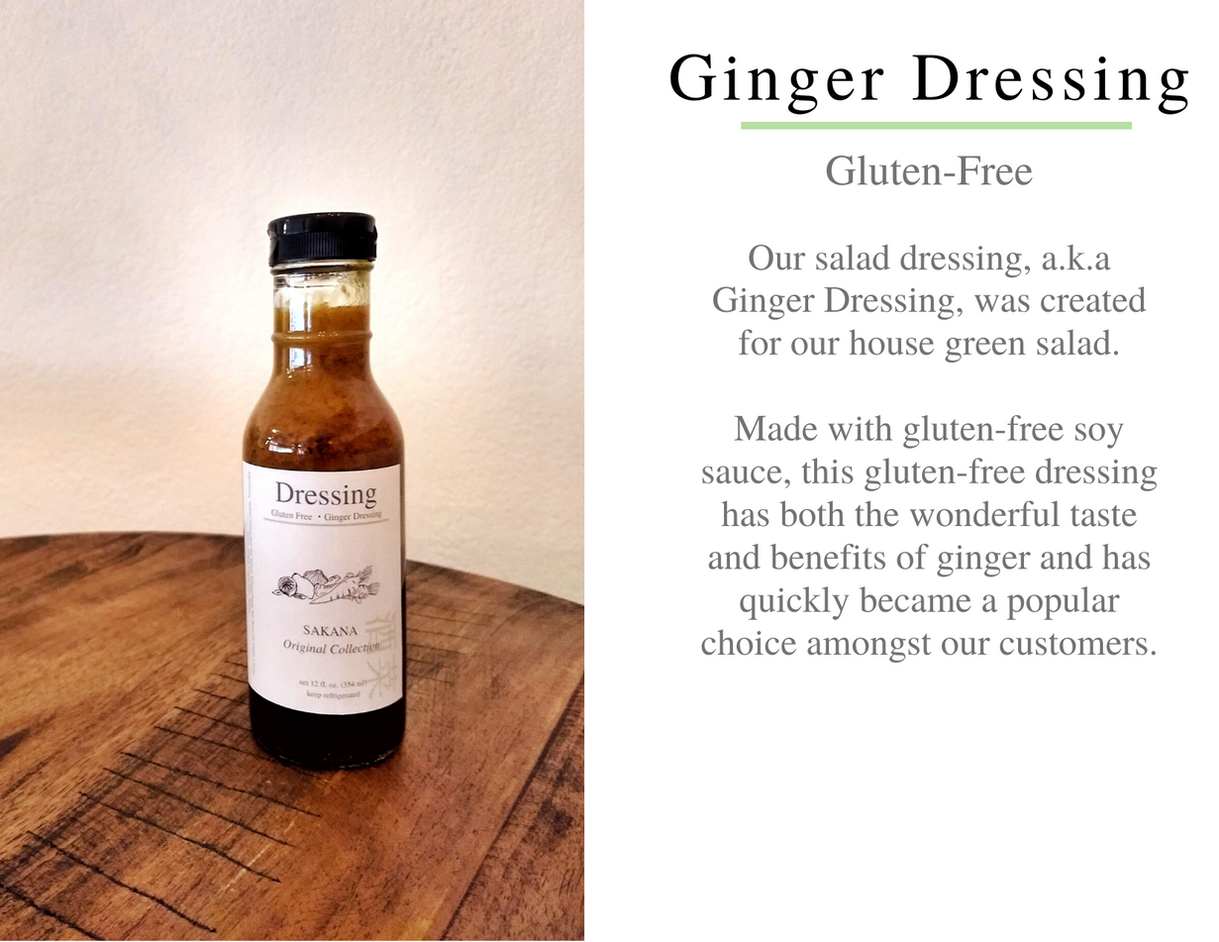 Sakana Ginger Dressing