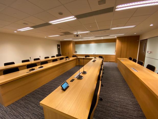 中研院國家生技研究園區AB棟會議室設備工程