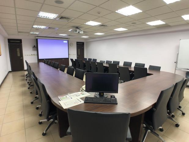 中研院資創中心會議室