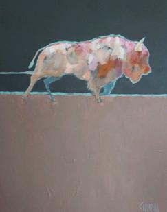 Denny Champlin, The Provider, Acrylic on Canvas, 30x24%22 1,400..jpg