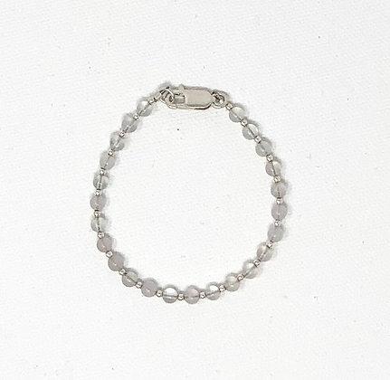 "Rachel Dragon | Rose Quartz Bracelet | 6.5"""