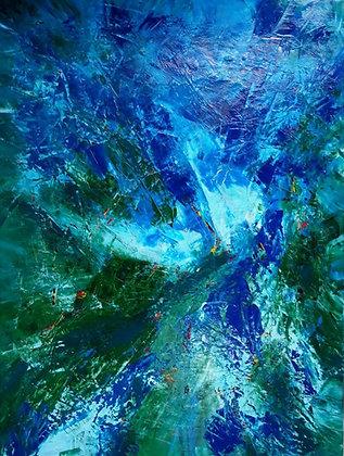 Wild Horse | Acrylic on Canvas | 48x36