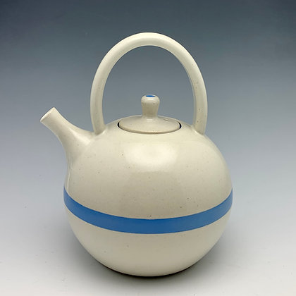 "Tim Carlburg | Serenity Teapot | Ceramic | 7"""
