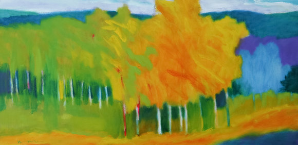 Early November   Oil on Canvas   24x48