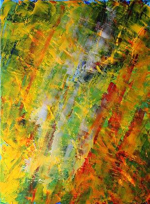 "Lucia de Brito Franco   On the Realms of Light   Acrylic on Canvas   18x24"""