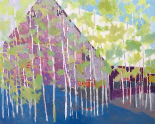 "Marshall Noice | Siderius II | Oil on Canvas | 48x60"" | 10300"