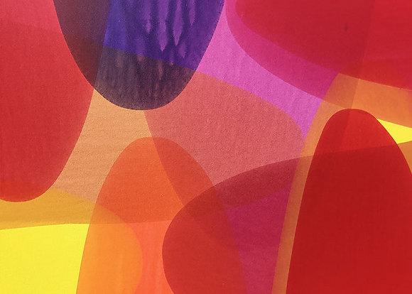 "Ron Scharfe | Aflame | Acrylic on Canvas | 30x40"""