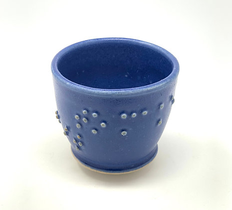 Michelle Tanberg |Braille Tea Bowl |To make a mustache of it |Ceramic