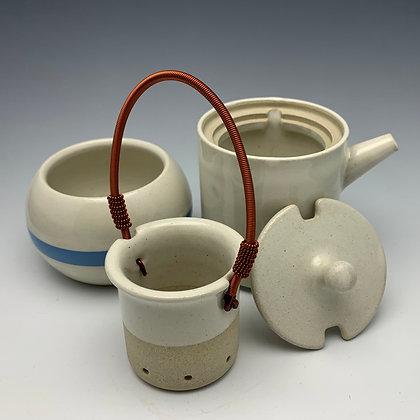 "Tim Carlburg | Tea Service for 1 | Ceramic | 6"""