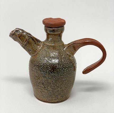 """Carly Baumgarten, Vine Ewer, Ceramic, 5.5x6.5x3"""" 35..jpg"""
