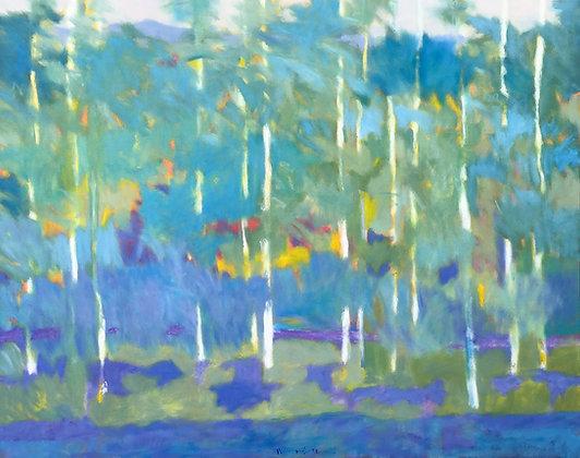 "Marshall Noice   Looking Toward the Bridgers   Oil on Canvas   48x60""   10,300."