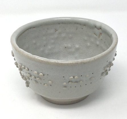 "Tea Bowl with Braille | ""Deeply we go..."" 