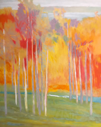 14 On Valley View | Oil on Canvas | 60x48""