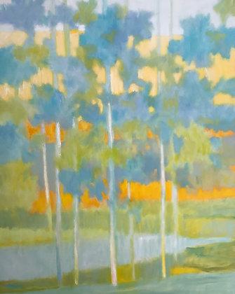 "Marshall Noice   Morning Ridgetop   Oil on Canvas   60x48""   10,300."
