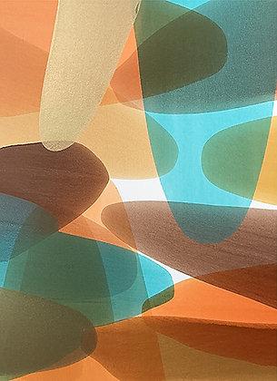 "Ron Scharfe   Gathering Storm   Acrylic on Canvas  60x48"""