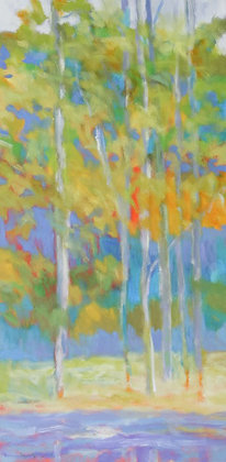 """Marshall Noice   Old Growth, Lawrence Park   Oil on Canvas   48x24""""   5,600."""