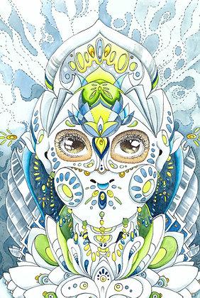 "Sierra Benjamin | Protect |Acrylic | 12x9"" | 42."