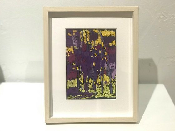 "Marshall Noice | Dappled Shade | Pastel on Paper | 10.25x8.75"" framed size"