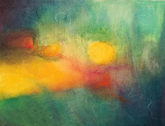 "Suncatcher | Pastel | 9x12"""