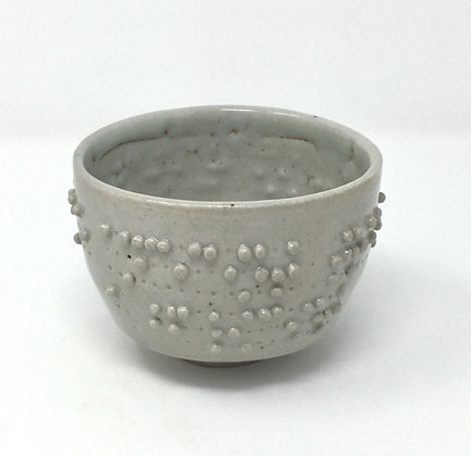 "Tea Bowl with Braille | ""Ancient trees put on..."" 