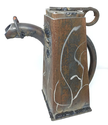 "Charles Davis   Tea For the Novice   Steel   15x13""   500"