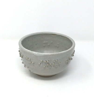 "Tea Bowl with Braille | ""I reach into..."" 2 