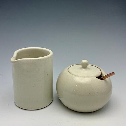 """Tim Carlburg   Cream n' Sugar Set   Ceramic   3"""""""