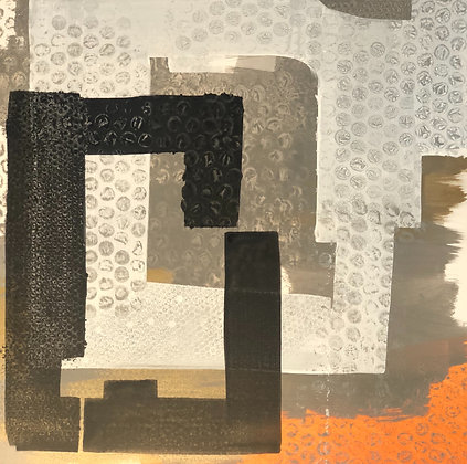 "Ron Scharfe | Grafix #57 | Acrylic on Canvas | 36x36"""
