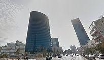 משרדים להשכרה במגדל יוקרתי בדרך מנחם בגין - בתל אביב