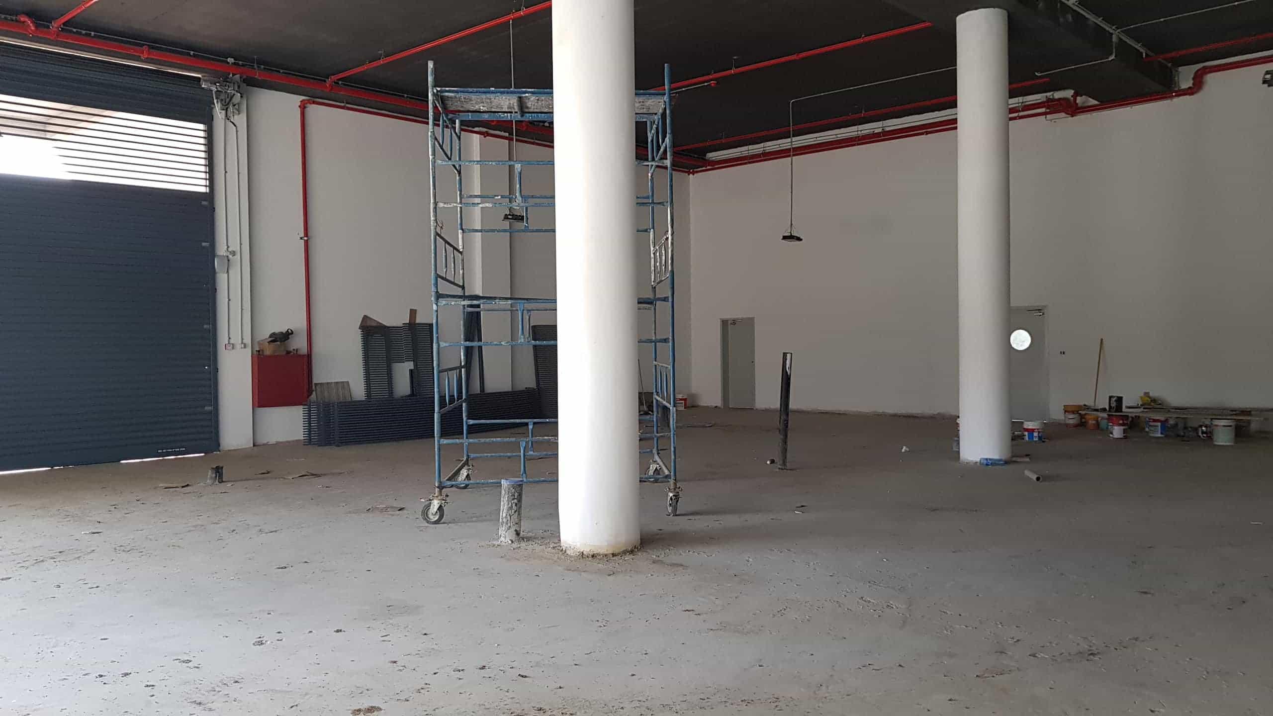 """מבנה לאחסנה להשכרה בחולון - 350 מ""""ר - כניסה ינואר 2020"""