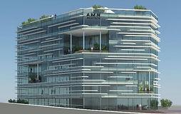 פרויאקט חדששל משרדים למכירה בחיפה , בתהליך בנייה מתקדם באזור חיפה מבנה של 7 קומות של משרדים ומסחר ליד מנהרות הכרמל