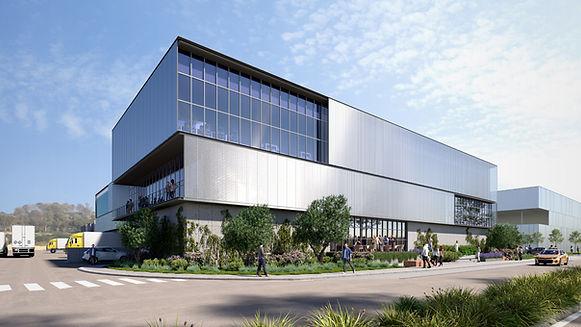 """מרלו""""ג חדש בבנייה באזור עמק חפר - להשכרה בגודל של 3500 מ""""ר עם משרדים מכובדים."""